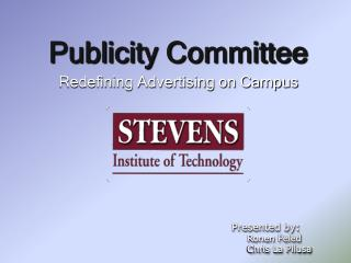 Publicity Committee