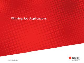 Winning Job Applications