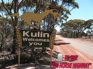 "TO THE ""TIN HORSE HIGHWAY"""