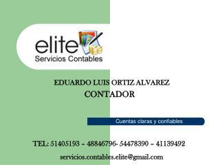 EDUARDO LUIS ORTIZ ALVAREZ CONTADOR