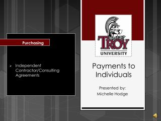 Payments to Individuals