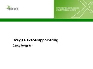 Boligselskabsrapportering Benchmark