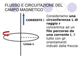 FLUSSO E CIRCUITAZIONE DEL CAMPO MAGNETICO