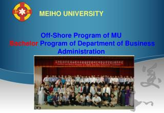 Off-Shore Program of MU Bachelor  Program of Department of Business Administration