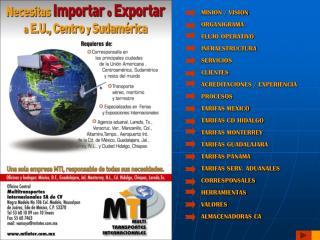 MISION / VISION ORGANIGRAMA FLUJO OPERATIVO INFRAESTRUCTURA SERVICIOS CLIENTES