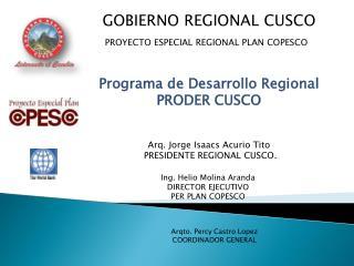 GOBIERNO REGIONAL CUSCO