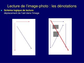 Lecture de l'image-photo : les dénotations