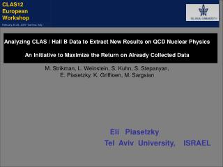 Analyzing CLAS / Hall B Data to Extract New Results on QCD Nuclear Physics