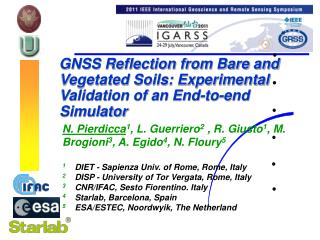 GNSS Reflection from Bare and Vegetated Soils: Experimental Validation of an End-to-end Simulator