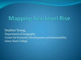 Mapping Sea-Level Rise