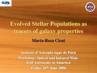 Evolved Stellar Populations as tracers of galaxy properties