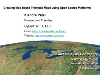 Creating Web based Thematic Maps using Open Source Platforms