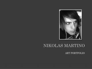 NikOLAS MArtino