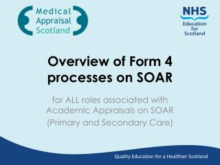 Overview of Form 4 processes on SOAR