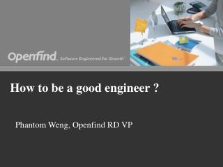 How to be a good engineer ?