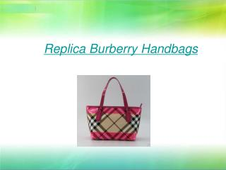 Replica Burberry Handbags