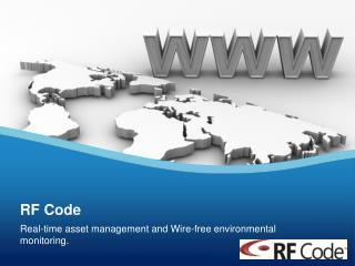 Real-time asset management and Wire-free environmental monitoring.
