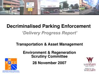 Decriminalised Parking Enforcement