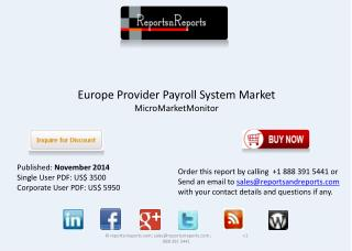 Overview of European Provider Payroll System Industry