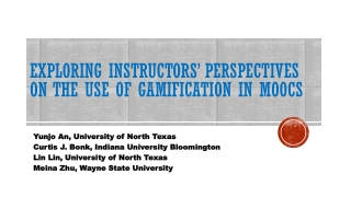 Learners  Attitudes and Perceptions of Online Instruction