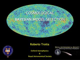 COSMOLOGICAL  BAYESIAN MODEL SELECTION