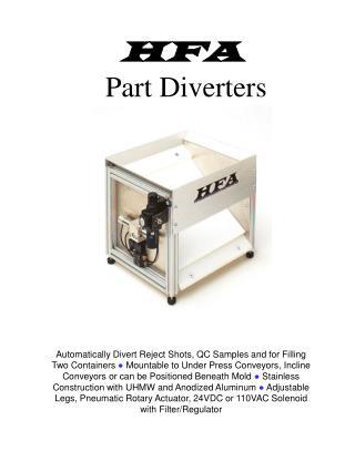 HFA Part Diverters