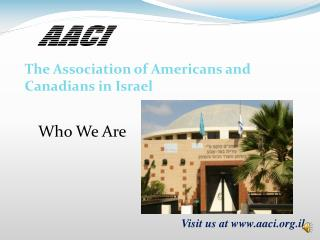 The Association of Americans and Canadians in Israel