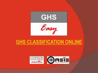 GHS CLASSIFICATION ONLINE