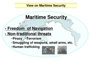 View on Maritime Security
