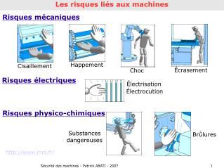 Sécurité des machines - Patrick ABATI - 2007