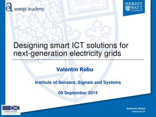 Designing smart ICT solutions for next-generation electricity  grids