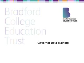 Governor Data Training