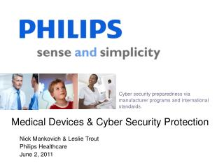 Medical Devices & Cyber Security Protection