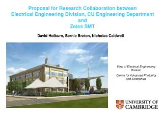 Proposal for Research Collaboration between