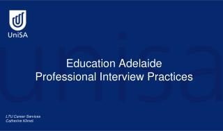 Education Adelaide  Professional Interview Practices