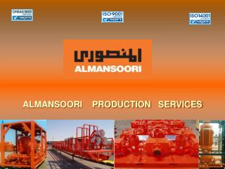 ALMANSOORI    PRODUCTION   SERVICES