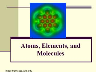 Atoms, Elements, and Molecules