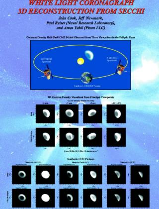 LWS Proposal 3D Reconstruction of White Light Coronagraph Images from Multiple Viewpoints