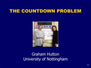 THE COUNTDOWN PROBLEM