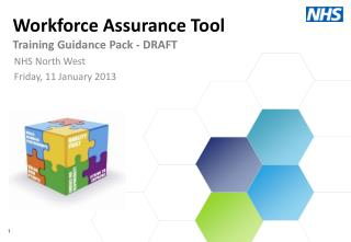 Workforce Assurance Tool Training Guidance Pack - DRAFT