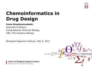 Chemoinformatics in Drug Design