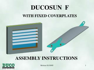 DUCOSUN F WITH FIXED COVERPLATES