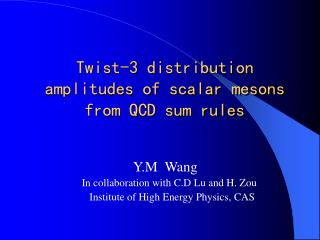 Twist-3 distribution amplitudes of scalar mesons from QCD sum rules