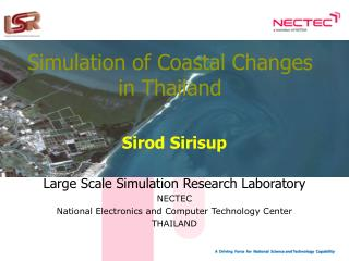 Simulation of Coastal Changes in Thailand