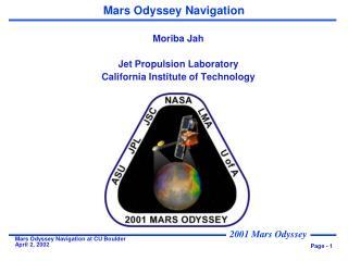 Mars Odyssey Navigation