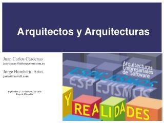 Arquitectos y Arquitecturas