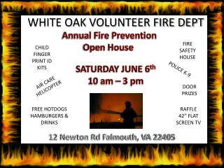 WHITE OAK VOLUNTEER FIRE DEPT