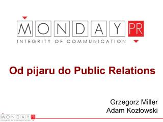 Od pijaru do Public Relations