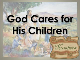 God Cares for His Children