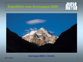 Expedition zum Aconcagua 2009